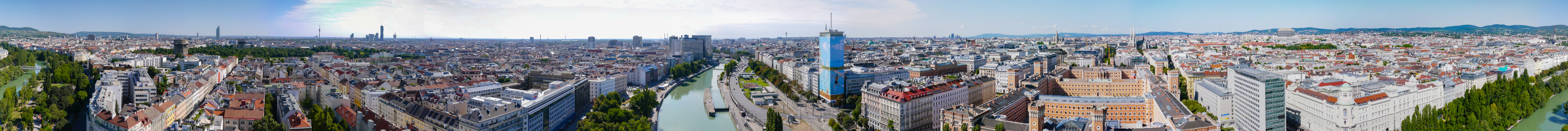 Donaukanal Wien Ringturm